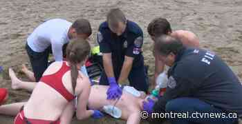 After mingling led to COVID-19 outbreak among lifeguards, Lachine couldn't find substitutes - CTV News Montreal