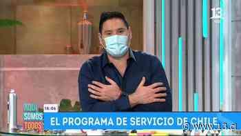 """Ángeles Araya y Pancho Saavedra se despiden de Leo Caprile en """"Aquí Somos Todos"""" - 13.cl"""