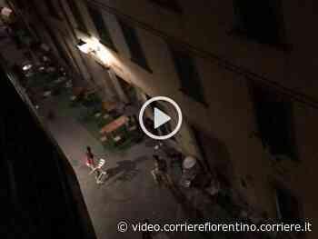 Rissa in centro a Prato a colpi di bottiglie e sedie - Corriere Fiorentino