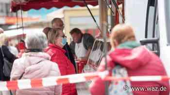 Maskenpflicht gilt in Oberhausen auch auf dem Wochenmarkt - Westdeutsche Allgemeine Zeitung