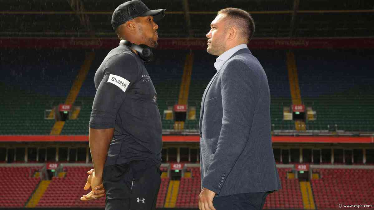 Hearn: Joshua to face Pulev first week of Dec.