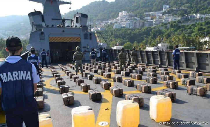 Asegura la Marina 2 toneladas de cocaína en Acapulco - Quadratín Michoacán