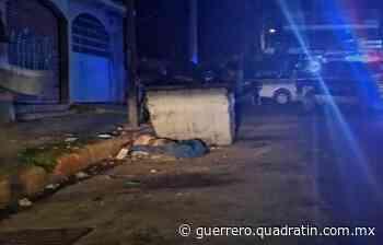 Dejan un ensabanado y otro asesinado con torniquete en Acapulco - Quadratín Michoacán