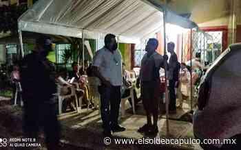 Dispersan a más de 100 personas en dos fiestas en Acapulco - El Sol de Acapulco