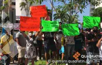Acapulco: protestan presuntos militantes contra presidente de Morena - Quadratin Guerrero