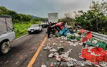 Accidente en la carretera Acapulco-Pinotepa deja saldo de un hombre lesionado - El Sol de Acapulco