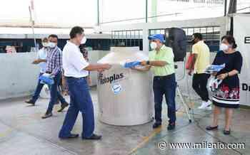 Senador Manuel Añorve entrega tinacos y lentes en Acapulco - Milenio