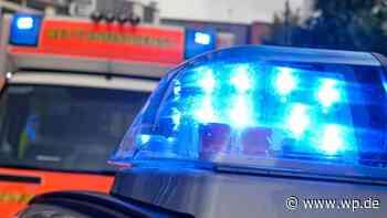 Menden: 28-Jähriger bei Angriff mit Flasche schwer verletzt - Westfalenpost