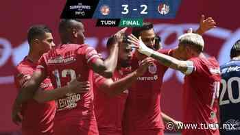 Canelo marca doblete para el triunfo del Toluca sobre San Luis - TUDN MEX