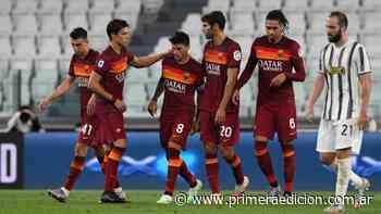 Perotti marcó por duplicado en el triunfo de Roma ante Juventus - Primera Edicion