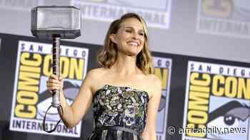 Thor Love and Thunder, Natalie Portman « prête à pomper » pour devenir le puissant Thor - Africa Daily News