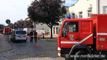 Evakuierung in Bad Doberan: Gasleck rettet Verletztem vermutlich das Leben   Nordkurier.de - Nordkurier