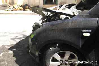 Il fuoco colpisce ancora: brucia un'altra auto - MolfettaViva