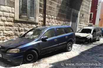 Notte di fuoco: distrutte due auto in via Sant'Alfonso - MolfettaViva