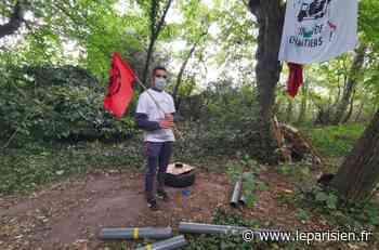 Eaubonne : les manifestants écologistes s'opposent au projet immobilier - Le Parisien