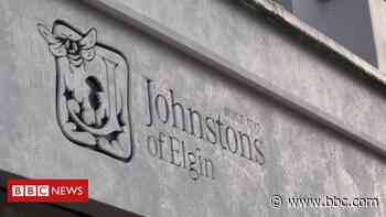 Textile firm Johnstons of Elgin warns of job cuts - BBC News