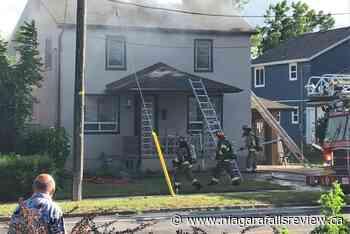 Niagara Falls firefighters called to house fire on Dunn Street - NiagaraFallsReview.ca