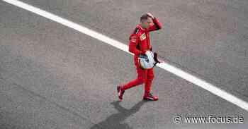Formel 1: Sebastian Vettel resigniert nach Silverstone-Desaster im Ferrari - FOCUS Online