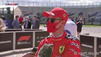 Formel 1 Video: Sebastian Vettel nach Qualifying unzufrieden im Interview - Sky Sport