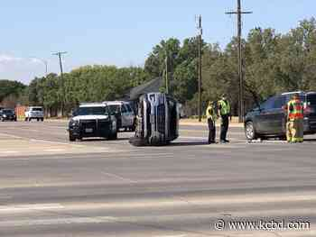 Traffic diverted for rollover on 82nd Street and Frankford Ave. - KCBD