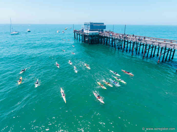 Paddlers cross Catalina channel in honor of lifeguard Ben Carlson