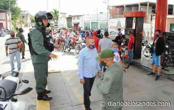 GNB y policías toman las calles de Valera en la semana radical - Diario de Los Andes