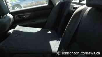 'Luckily I found the latch': Lac La Biche man escapes sinking car through trunk - CTV News