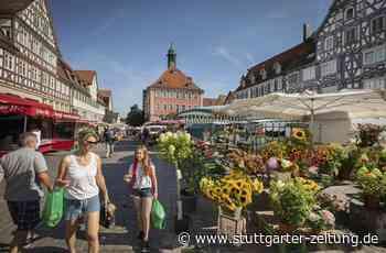 Ideen für Wochenmarkt in Schorndorf - Der Markt ist schon lange kein Selbstläufer mehr - Stuttgarter Zeitung