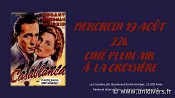 Ciné plein air : « Casablanca » La Croisière,63 Bd Emile Combes – 13200 ARLES mercredi 19 août 2020 - Unidivers