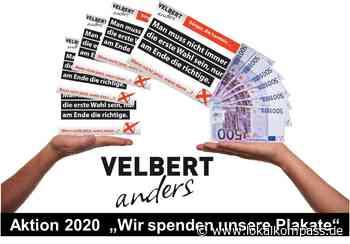 Statt Plakatflut - Spenden an gemeinnützige Institutionen: VELBERT anders spendet - bewerben Sie sich - Velbe - Lokalkompass.de