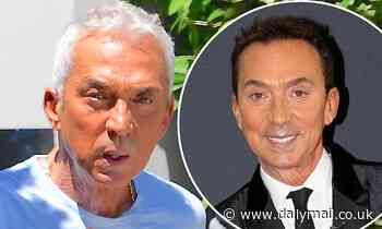 Strictly Come Dancing's Bruno Tonioli shows natural silver hair - Daily Mail