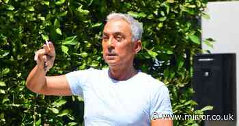 Bruno Tonioli looks totally different as a silver fox as he shows off his natural grey hair - Mirror Online