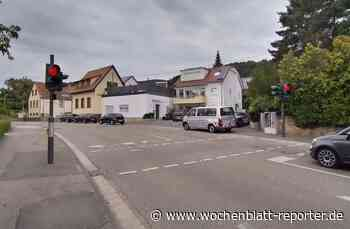 Neue Fußgängerampel mit modernster Technik in Hambach: Sicheres Queren der Weinstraße - Wochenblatt-Reporter