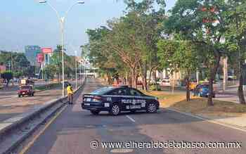 [Fotogalería] Cierran carriles centrales de Ruiz Cortines por trabajos del distribuidor vial - El Heraldo de Tabasco