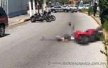 Atropellan a motociclista en la avenida Ruiz Cortines - El Sol de Acapulco