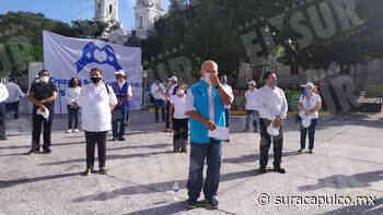 Empresarios reparten cubrebocas y gel antibacterial en Chilpancingo para concientizar a la población - El Sur Acapulco suracapulco I Noticias Acapulco Guerrero - El Sur de Acapulco