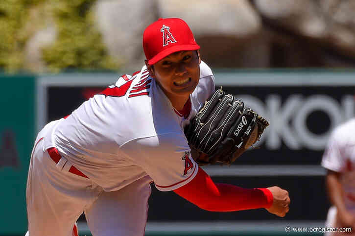 Angels' Shohei Ohtani won't be able to throw for at least 4 weeks, but can DH