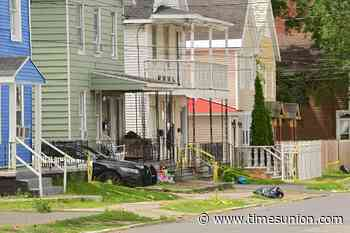 Two shot in Schenectady Monday night