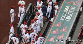 Coronavirus: 13 in Cardinals organization test positive - Los Angeles Times