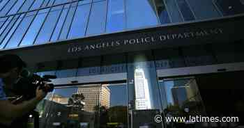 Lawsuit says LAPD falsely labeled residents as gang members - Los Angeles Times