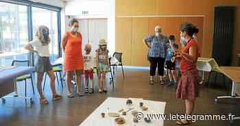 L'atelier modelage proposé par Centre Morbihan Communauté a connu un vif succès - Le Télégramme