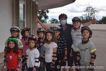 LE CREUSOT : Roller pour tous les enfants de l'A.L.S.H La Lande aux Loisirs - Creusot-infos.com