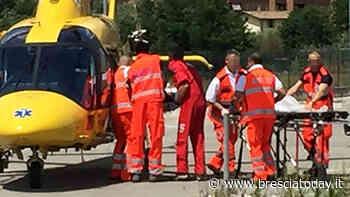 Bimba investita da un'auto davanti al parco: in eliambulanza al Civile - BresciaToday