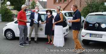 Lions Club Schifferstadt-Goldener Hut: Tausend Masken für Sozialstation - Schifferstadt - Wochenblatt-Reporter