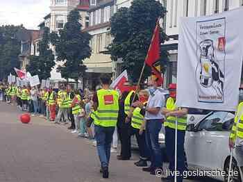 Menschenkette protestiert | Seesen - GZ Live