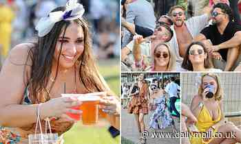 Revellers let their hair down at the Darwin Cup as the rest of the country faces COVID restrictions