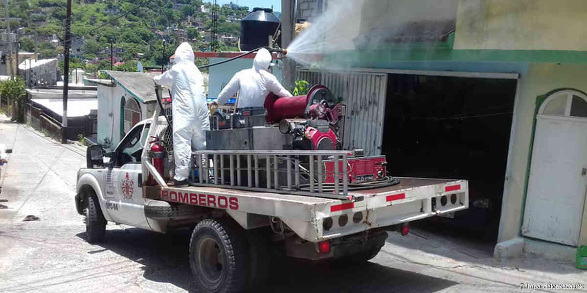 Desinfectan colonias de Salina Cruz por Covid-19 - El Imparcial de Oaxaca