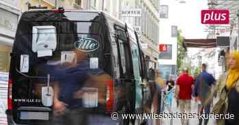 Extra Platz für die Lieferanten in Wiesbaden