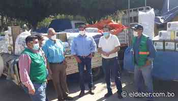 Gobernación entrega medicamentos, insumos y alimentos en Puerto Quijarro - EL DEBER