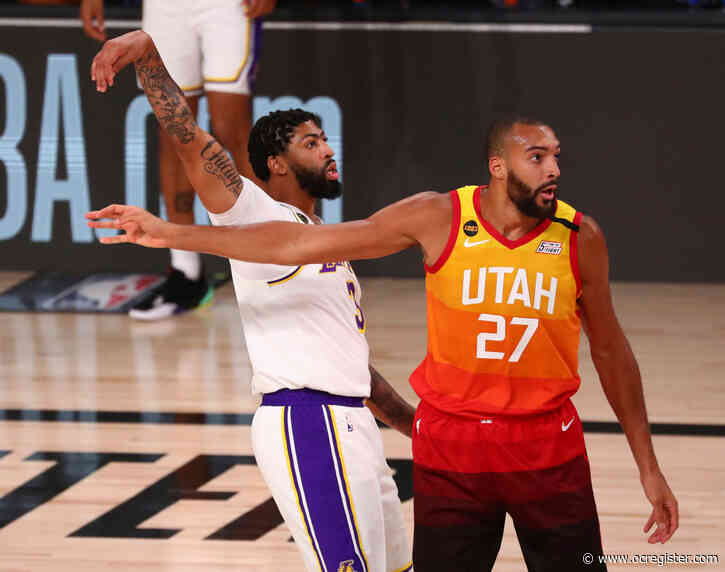 Anthony Davis dominates with 42 points as Lakers clinch No. 1 seed over Utah Jazz